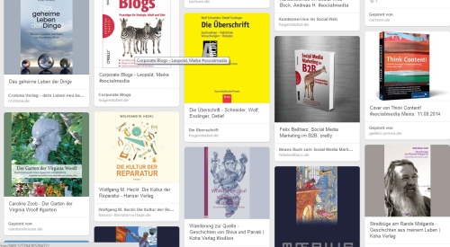 Buchwunschliste auf Pinterest