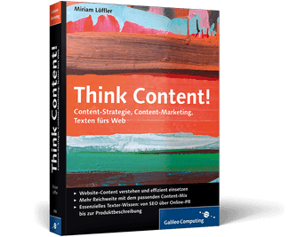 Think Content! Fachbuch