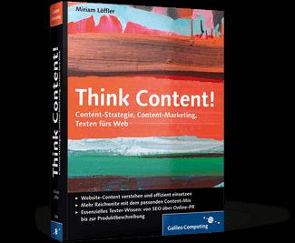 Think Content! Fachbuch