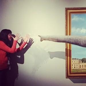 3D Elefantenbild im Naturkundemuseum Kassel #nkm3D