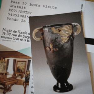 Eintritsskarten Jugendstilmuseum Nancy