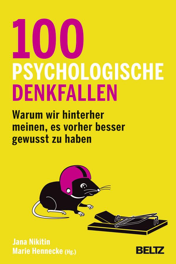 100 psychologische Denkfallen - Sachbuch