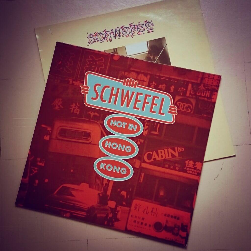 LP-Cover der Band Schwefel aus Mannheim