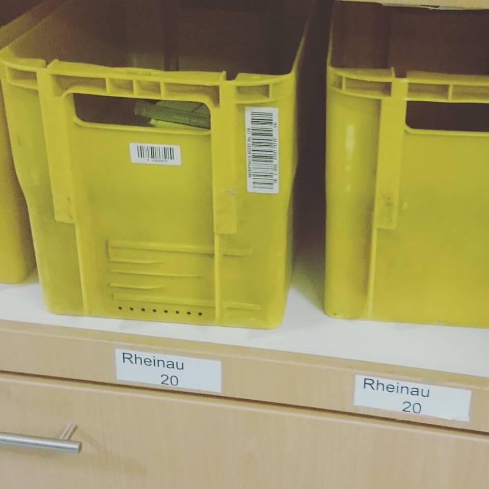 Bücher für die Vorortbibliotheken