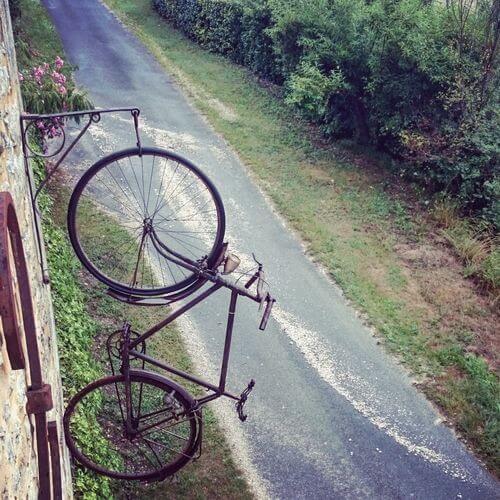 Fahrrad Wand hoch - Supertalente gesucht