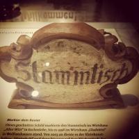 Stammtisch Schild Technoseum Mannheim