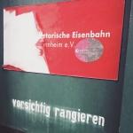 Historische Eisenbahn Mannheim – Museumsbesuch