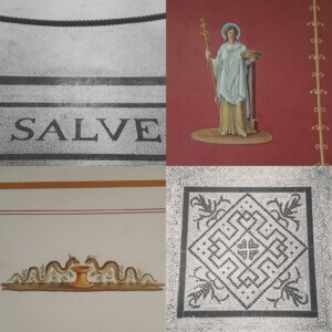 Details aus dem Pompejanum Aschaffenburg