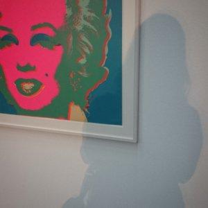 Marilyn und ich bei Pop up im Hack Museum