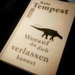 Kate Tempest - wie das Maifeld Derby dafür sorgte, dass ich einen Roman las