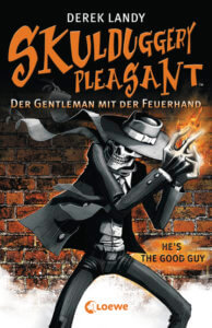 Jugendbuch Skulduggery Pleasent - ein Skelett als Meisterdetektiv
