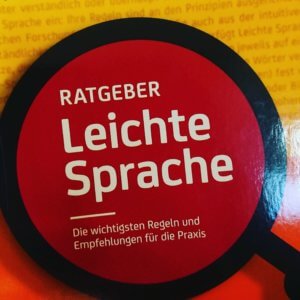 Buchcover: Ratgeber Leichte Sprache aus dem Duden Verlag