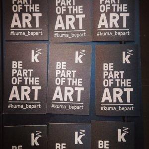 #kuma_bepart - der Hashtag der Kunsthalle Mannheim zur Eröffnung