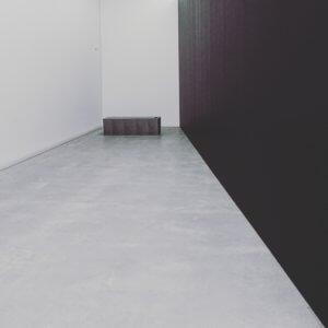 schräger Raum in der neuen Kunsthalle Mannheim
