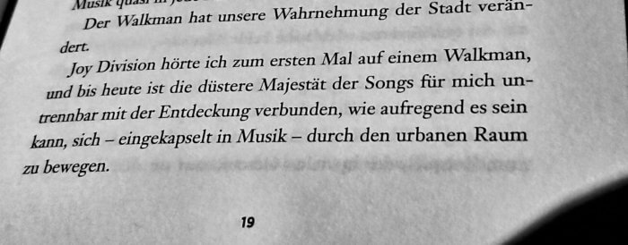Zitat William Gibson über Joy Division