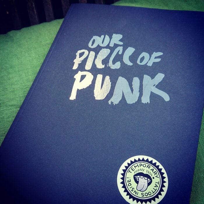 Sachbuch: Our piece of Punk - ein queer feministischer Blick auf Punk und DIY.