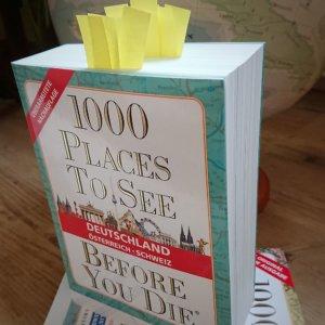 Mit dem Finger auf der Landkarte verreisen: das Buch 1000 places to see before you die