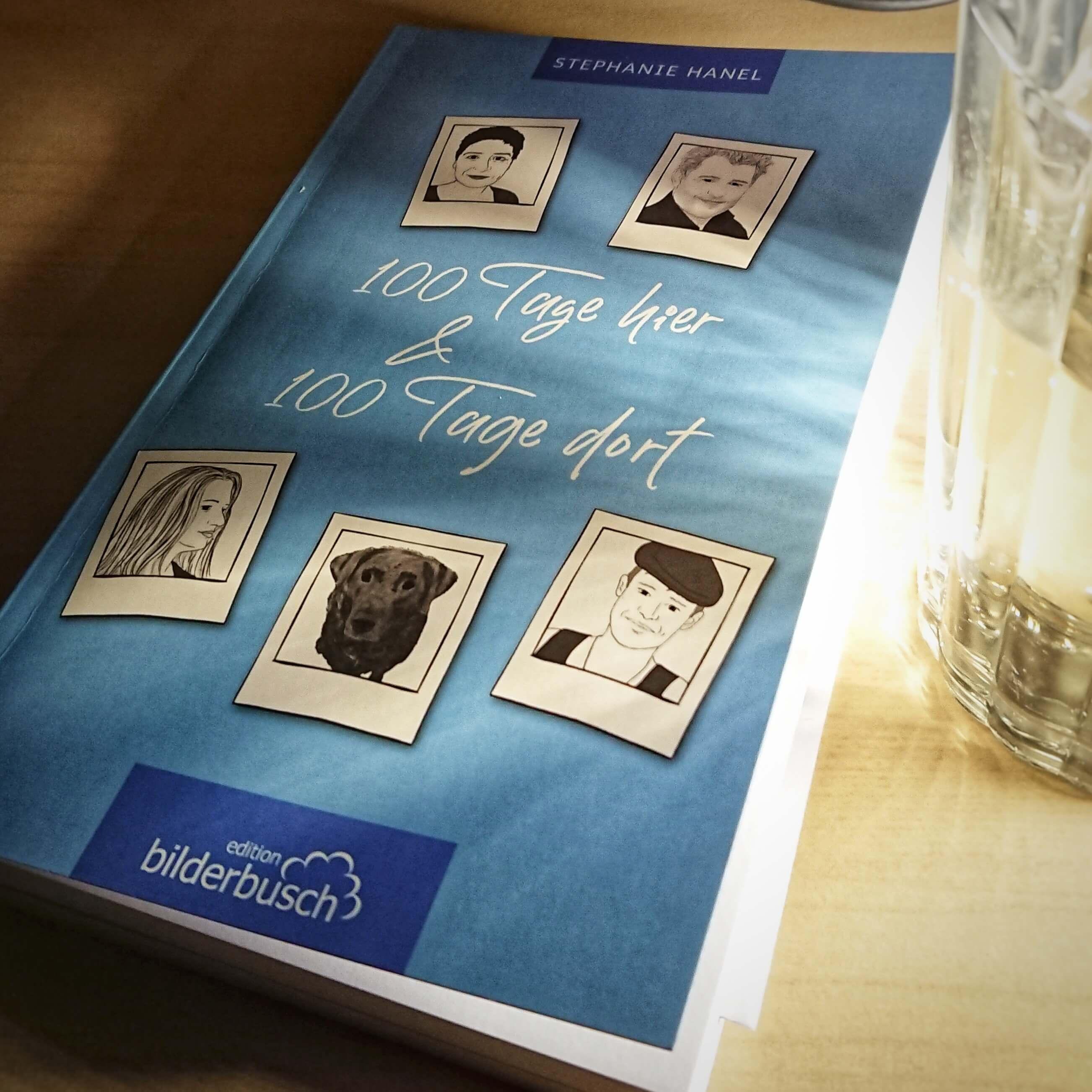 Eine Familie zieht nach New York und erzählt darüber. 100 Tage hier & 100 Tage dort. Buch-Cover