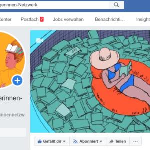 Buchbloggerinnen - das Netzwerk auf Facebook