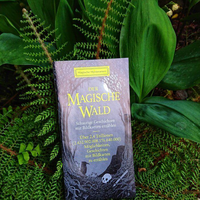 Schauergeschichten erzählen mit Bildkarten: der magische Wald