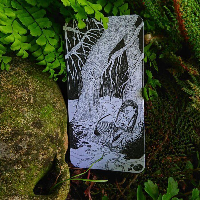 Der magische Wald. Diese 20 Bildkarten lassen sich beinahe unendlich miteinander kombinieren.