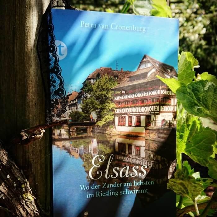 Elsass. Kein Reiseführer, eher eine Annäherung an eine Region.  Auf verschlungenen Wegen wandelt der Leser durch die ebenso schöne wie vielfältige Landschaft, erfährt von keltischen Mythen, alten Pilgerstätten und kann das winterliche Straßburg neu für sich entdecken.  Mit Rezepten,