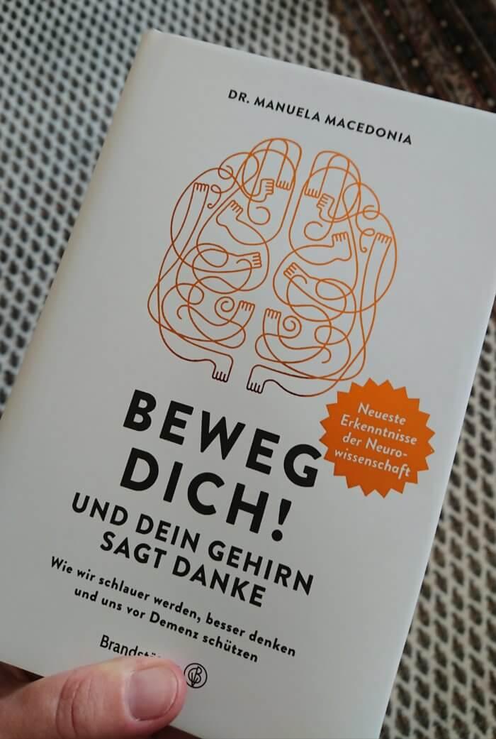Beweg dich und dein Gehirn sagt danke! Sachbuch.