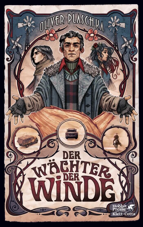 Oliver Plaschka - Der Wächter der Winde. Eine moderne Fantasygeschichte in der Tradition Neil Gaimans, die Motive aus William Shakespeares »Der Sturm« neu aufleben lässt.