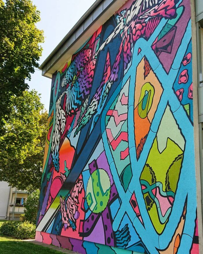 Murals in Mannheim