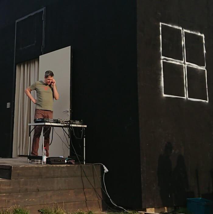 Torsten Walker. 2017. Als DJ am Einraumhaus Mannheim. Nachruf.
