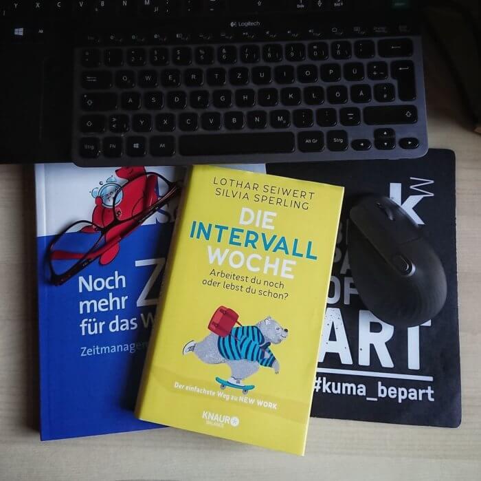 Zeitmanagement weiter denken mit diesem Buch: Lothar Seiwert & Silvia Sperling  Die Intervall-Woche Arbeitest du noch oder lebst du schon? Der einfachste Weg zu New Work
