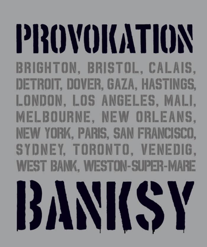 Xavier Tapies Banksy – PROVOKATION!