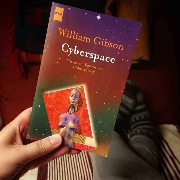 Taschenbuch: William Gibson - Cyberspace. Kurzgeschichten.