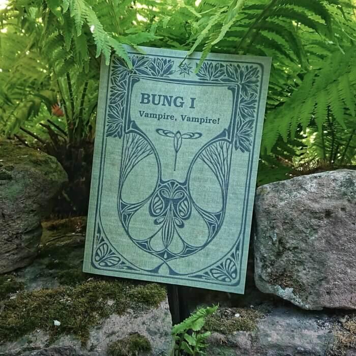 BUNG. Cover des Jugendbuchs.