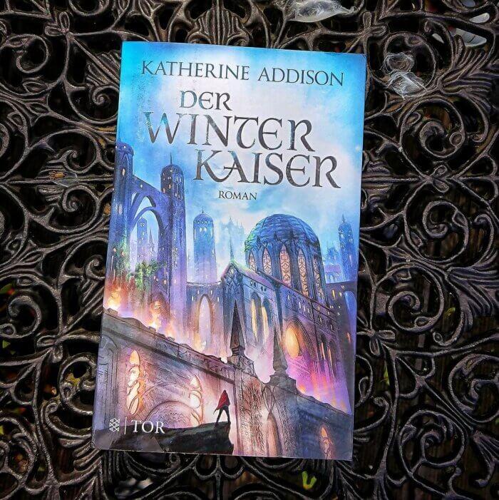 Cover des Fantasy-Romans Der Winterkaiser von Katherine Addison
